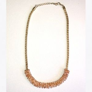 Statement Necklace with Coral Beads